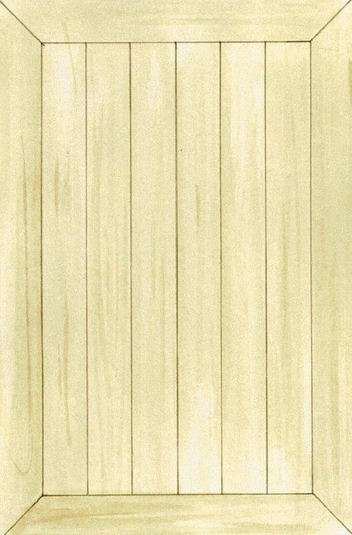 Elegant gulv lagt med friser langs væggene
