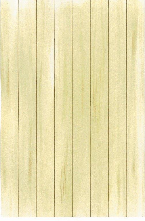 Gulv lagt med gulvbrædder i fuld længde